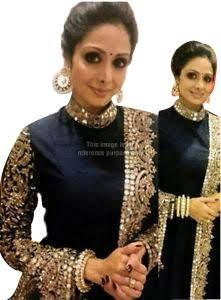 Navy Blue Coloured Suit with Dupatta
