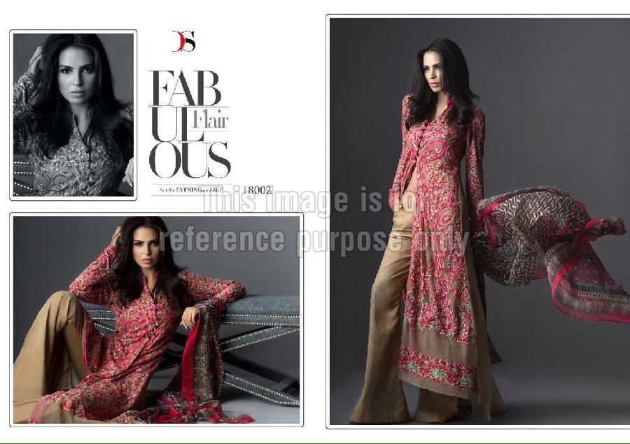 Front Open Designer Kurti with Palazzo