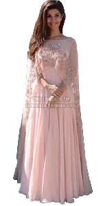 Light Pink Coloured Anarkali Suit