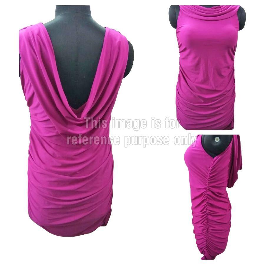 Purple Coloured Short Dress