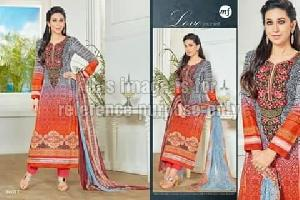 Printed Simple Straight Suit With Dupatta