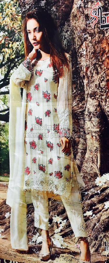 Light Yellow Coloured Simple Suit With Dupatta