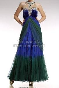Designer Sleeveless Net Gown