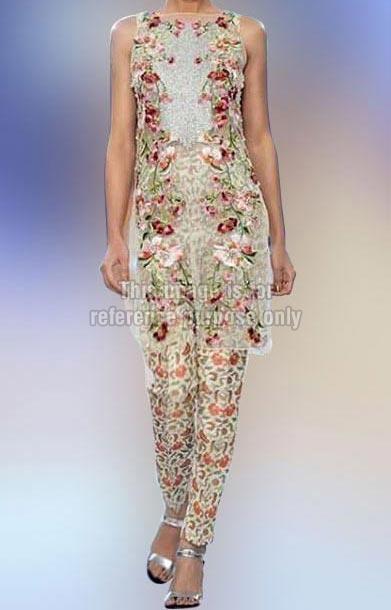 Floral Work Sleeveless Wear