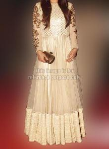 Raveena White Gown