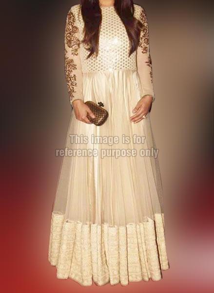 Raveena White Gown